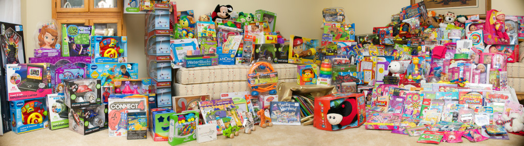 Toys for Tots Donation 2013