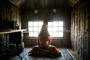Sacred Pregnancy Portraits by Heartlove Photography