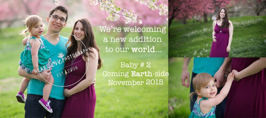 earth day pregnancy announcement
