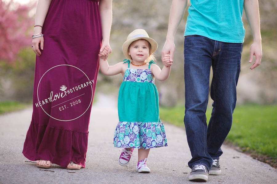 earth day baby announcement | baby photography