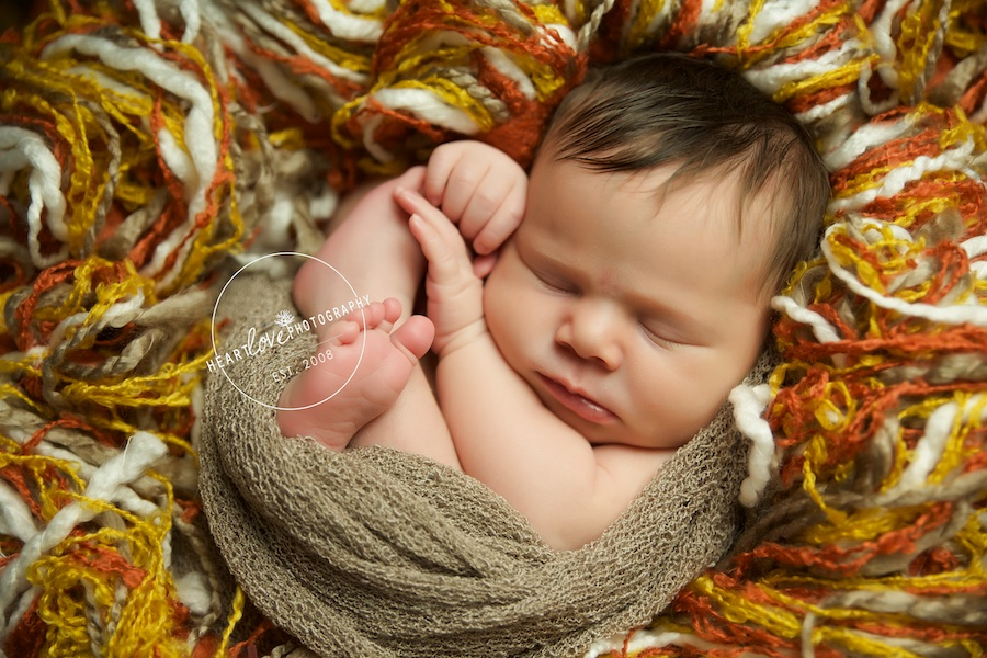 Fall Newborn Session | Annapolis, MD Newborn Photographer