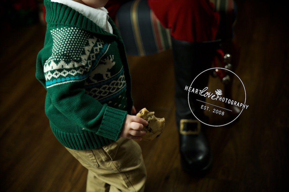 sessions with santa | pasadena, md baby photographer