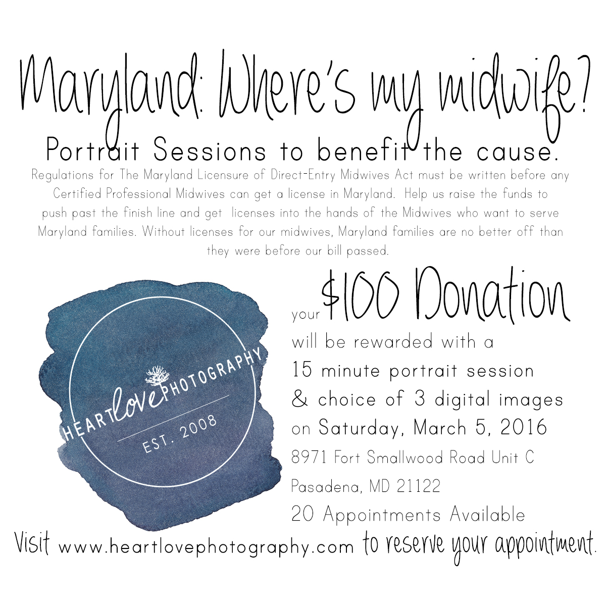 Mini Sessions for Midwives! | Pasadena, MD